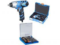 "Narex ESR 500 (T-Loc) - 480W, 1/2"", 570Nm, 1.52kg, kufr, dárek: 73-Tool Box MICRO"