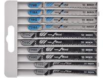 Bosch X-Pro Sada 10 ks pilových plátků do kmitací pily na DŘEVO a KOV s T stopkou Bosch příslušenství
