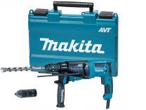 Vrtací a sekací kladivo Makita HR2631FT - SDS-Plus, 800W, 2.4J, 3kg, AVT v kufru