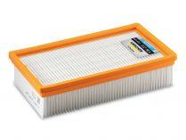 Plochý skládaný filtr Kärcher - PES, třída prachu M