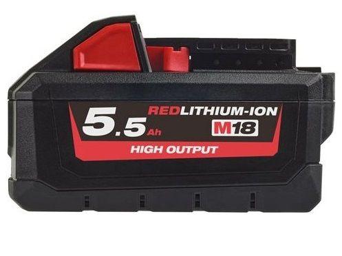 Akumulátor Milwaukee M18 HB5.5 - 18V/5.5Ah (4932464712)