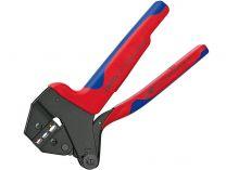 Kleště lisovací víceúčelové KNIPEX - 200mm - krimpovací - pro izolovaná kabelová oka a konektory