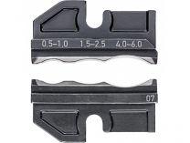 Lisovací nástavec pro lisovací víceúčelové kleště KNIPEX - spojky smršťovaci hadice 0.5-0.6mm²