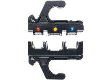 Náhradní lisovací profil pro izolovaná kabelová oka, konektory, pro KNIPEX MultiCrimp 973302, 973301