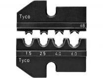 Lisovací nástavec pro lisovací víceúčelové kleště KNIPEX - pro solární konektory Solarloc (Tyco)
