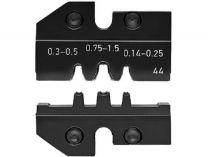 Lisovací nástavec pro lisovací víceúčelové kleště KNIPEX - stáčené kontakty 0.14-1.5mm²