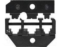Lisovací nástavec pro lisovací víceúčelové kleště KNIPEX - pro nestíněné konektory Molex
