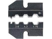 Lisovací nástavec pro lisovací víceúčelové kleště KNIPEX - pro konektory LWL typu Harting/Suhner