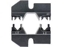 Lisovací nástavec pro lisovací víceúčelové kleště KNIPEX - pro solární konektory H+S