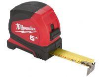 Profesionální svinovací metr Milwaukee PRO COMPACT - 5m, 25mm