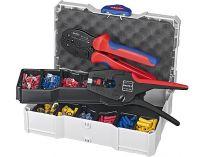 Sada kabelových koncovek s izolací Knipex, v boxu TANOS MINI-systainer®, s kleštěmi 1242195, 975308