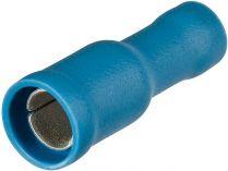 Kabelové kulaté koncovky, Knipex - dutinka nástrčná kulatá, Ø 5mm, isolovaná, modrá, 100ks
