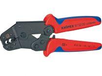 Kleště lisovací KNIPEX - 195mm - krátký tvar, pro konektory typu KOAX, BNC a TNC RG 58;59;62;71;223