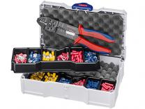Sada kabelových koncovek s izolací Knipex, v boxu TANOS MINI-systainer®, s kleštěmi 9732240