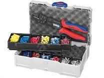 Sada kabelových koncovek s izolací Knipex, v boxu TANOS MINI-systainer®, s kleštěmi 9722240