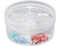 Dutinka koncová Knipex - izolovaná - box s izolovanými dutinkami s límcem 0.25-1.0mm²