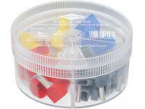 Dutinka koncová Twin Knipex - izolovaná, dvojitá - box s izolovanými dutinkami 4-16mm²