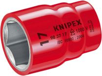 """Nasazovací nástrčný klíč izolovaný Knipex 3/8"""", 1000V VDE, 16mm"""