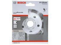 Diamantový brusný hrnec Bosch Expert for Concrete - pr. 125x22.23/5.0mm, 2-řadý segment