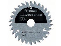 Pilový kotouč na různé materiály Bosch Standard for Multi Material - 85x15mm, 30z