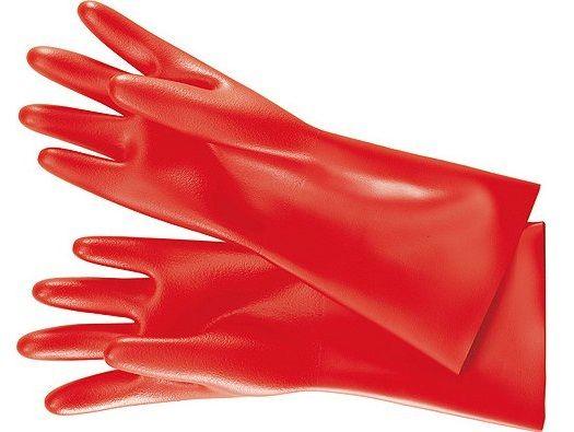 KNIPEX - rukavice elektrikářské velikost 11 - izolované 1000V VDE (986542)