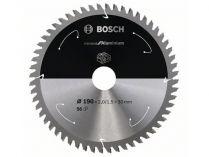 Pilový kotouč na hliník Bosch Standard for Aluminium - 190x30mm, 56z