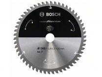 Pilový kotouč na hliník Bosch Standard for Aluminium - 165x20mm, 54z