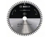 Pilový kotouč na hliník Bosch Standard for Aluminium - 173x20mm, 60z
