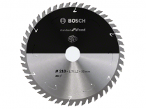 Pilový kotouč na dřevo Bosch Standard for Wood - 210x30mm, 48z