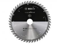 Pilový kotouč na dřevo Bosch Standard for Wood - 216x30mm, 48z, 25/10°