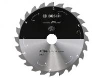Pilový kotouč na dřevo Bosch Standard for Wood - 216x30mm, 24z
