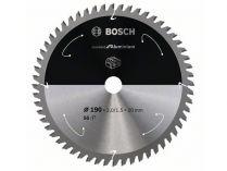 Pilový kotouč na hliník Bosch Standard for Aluminium - 190x20mm, 56z, 0/15°