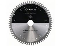 Pilový kotouč na hliník Bosch Standard for Aluminium - 216x30mm, 64z, 0/15°
