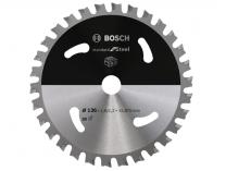 Pilový kotouč na ocel Bosch Standard for Steel - 136x15.875mm, 30z