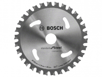 Pilový kotouč na ocel Bosch Standard for Steel - 136x20mm, 30z