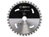 Pilový kotouč na ocel Bosch Standard for Steel - 160x20mm, 36z