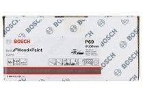 50x Brusný kotouč do excentrické brusky Bosch C470 - 150mm, zr.60, 40 otvorů