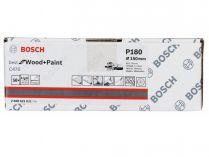 50x Brusný kotouč do excentrické brusky Bosch C470 - 150mm, zr.180, 40 otvorů