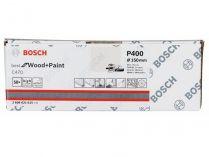 50x Brusný papír do excentrické brusky Bosch C470 - 150mm, zr.400, 40 otvorů