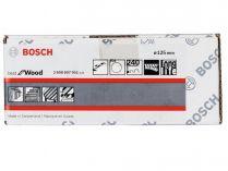 50x Brusný papír Bosch Best for Wood and Paint C470 125mm, hr.240