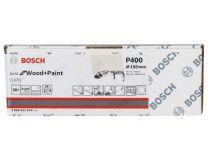 50x Brusný papír Bosch Best for Wood and Paint C470 150mm, hr.400
