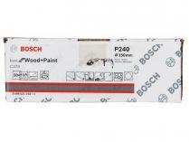 50x Brusný papír Bosch Best for Wood and Paint C470 150mm, hr.240