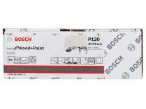 50x Brusný papír Bosch Best for Wood and Paint C470 150mm, hr.120