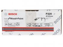50x Brusný papír Bosch Best for Wood and Paint C470 125mm, hr.320