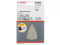 5x Brusná mřížka Bosch Best for Wood and Paint M480 100x150mm, hr.100