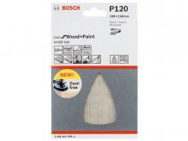 5x Brusná mřížka Bosch Best for Wood and Paint M480 100x150mm, hr.120