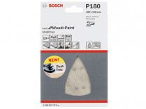 5x Brusná mřížka Bosch Best for Wood and Paint M480 100x150mm, hr.180