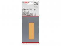 10x Brusný papír Bosch Best for Wood and Paint C470 93x230mm, hr.400, 8 otvorů