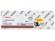 50x Brusná mřížka Bosch Best for Wood and Paint M480 93x186mm, hr.320