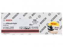 50x Brusná mřížka Bosch Best for Wood and Paint M480 93x186mm, hr.80